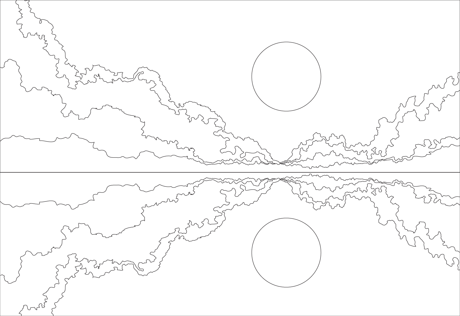 1600x1100 Outline Images Of Nature