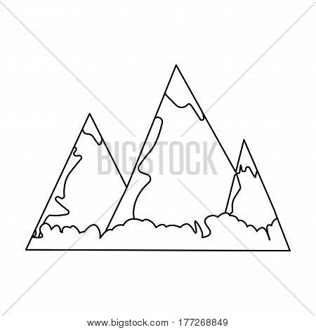 450x470 Blue Mountains Ice On Top. Vector Amp Photo Bigstock