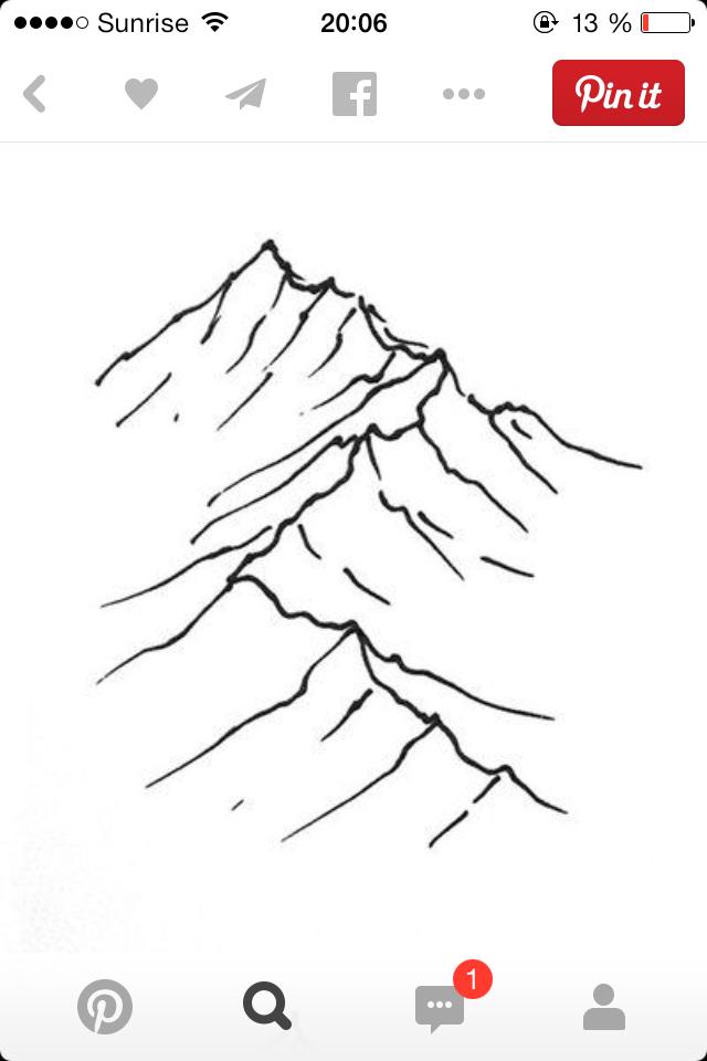 640x960 Pin By William Tseng On Mountains Mountain Tattoo