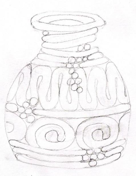 477x620 Pottery Coil Pot Old Mountain Art Ailene Cuthbertson