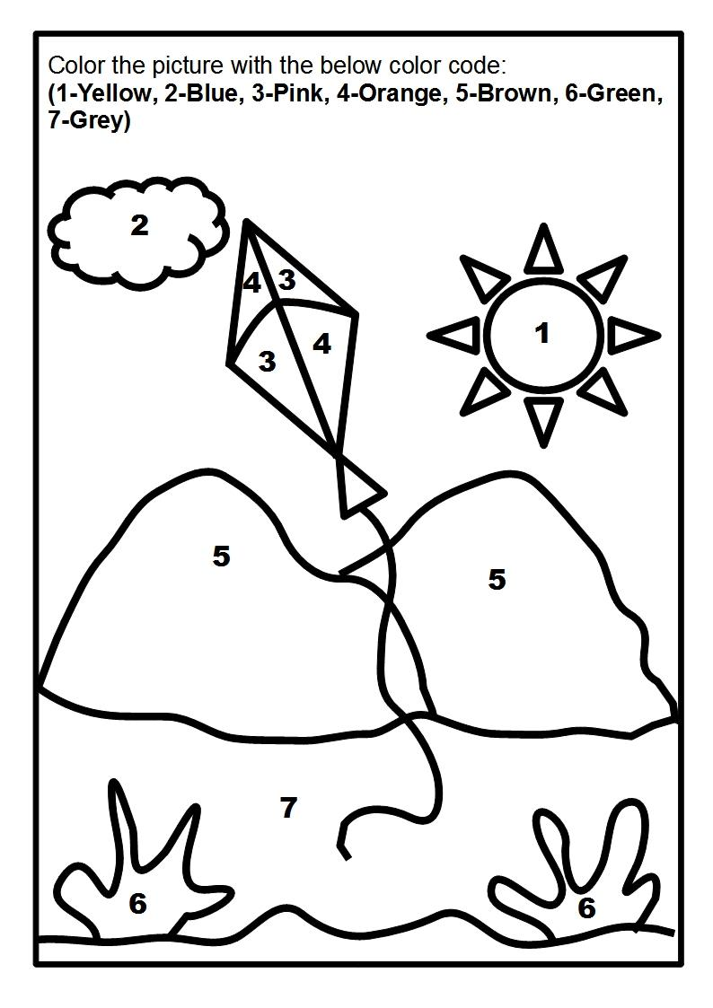 794x1123 Scenery Coloring Page Printable For Kids