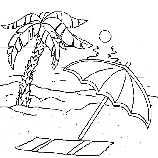 550x550 Sunset Coloring Pages Beach Coloring Pages Sunset Times Free