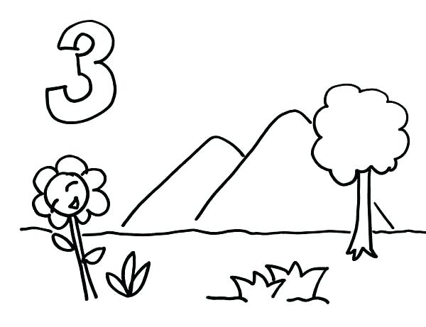 600x461 Coloring Pages Of Mountains Nzherald.co