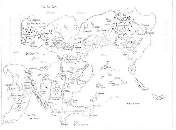 600x445 How To Make A Fantasy World Map