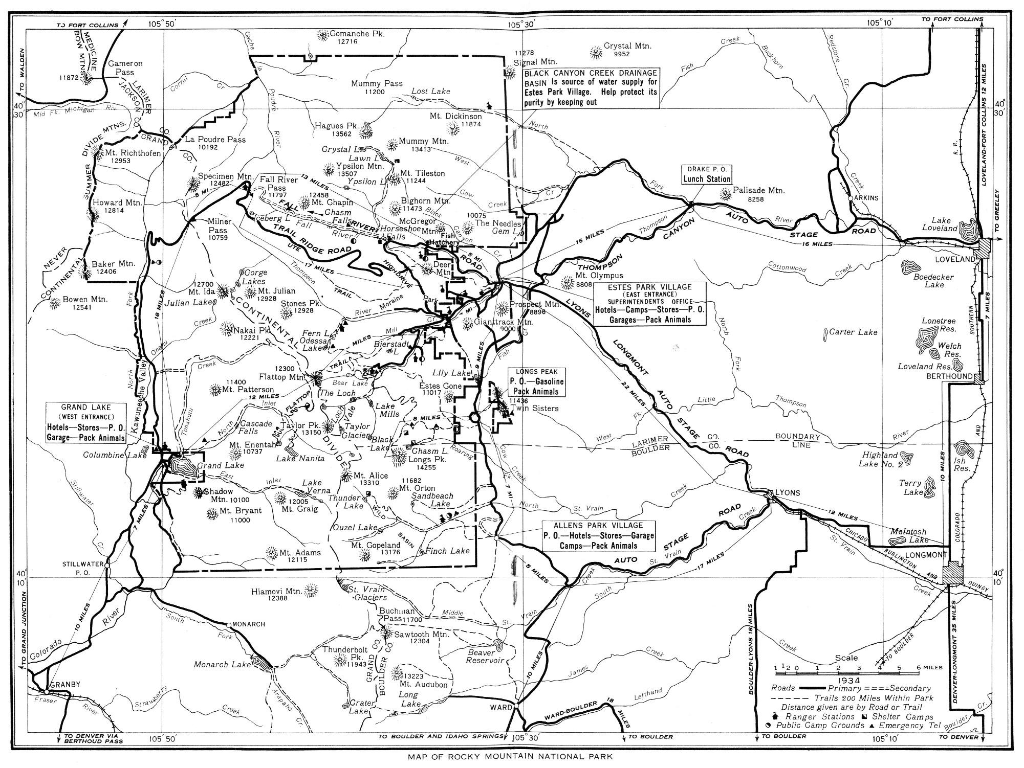 2001x1502 The Project Gutenberg Ebook Of Rocky Mountain [Colorado] National