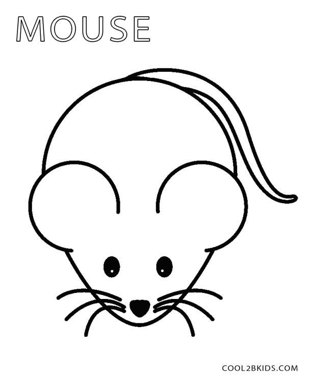 614x750 Printable Mouse Coloring Pages For Kids Cool2bkids