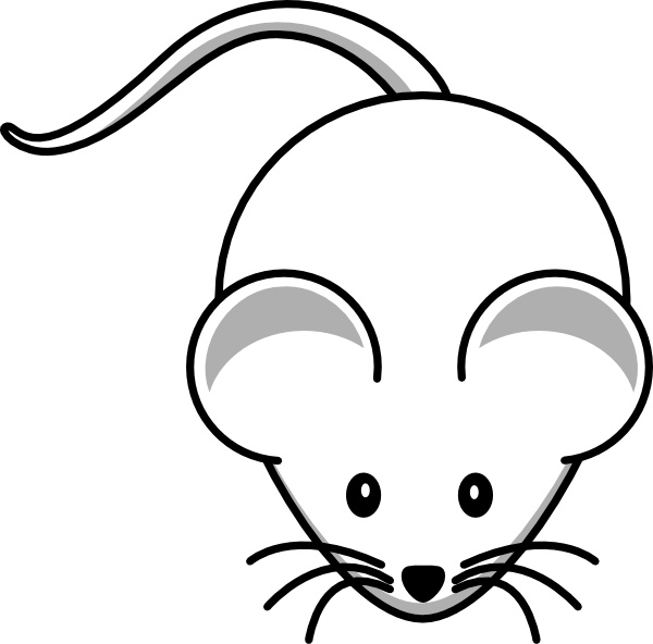 600x592 Simple Cartoon Mouse Clip Art Free Vector In Open Office Drawing