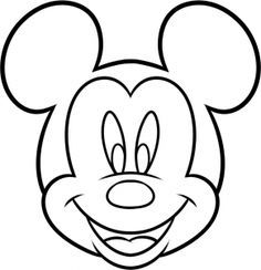 236x244 How To Draw Mickey Mouse For Kids Step 7