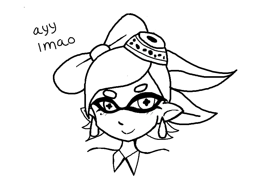 810x606 Marie Splatoon Mouse Drawing Ayy By Evilmufffin126