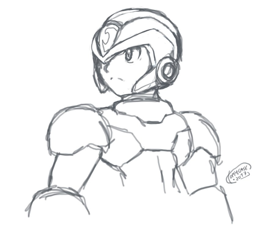 900x737 X Mouse Sketch By Tomycase