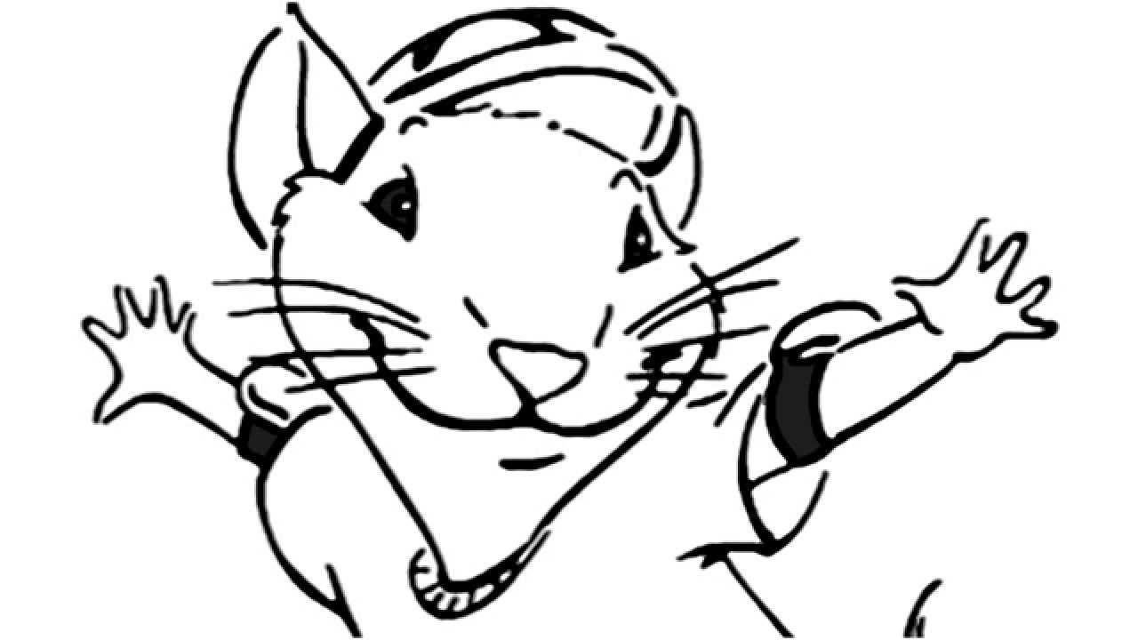 1280x720 Stuart Little Drawing How To Draw Stuart Little How To Draw
