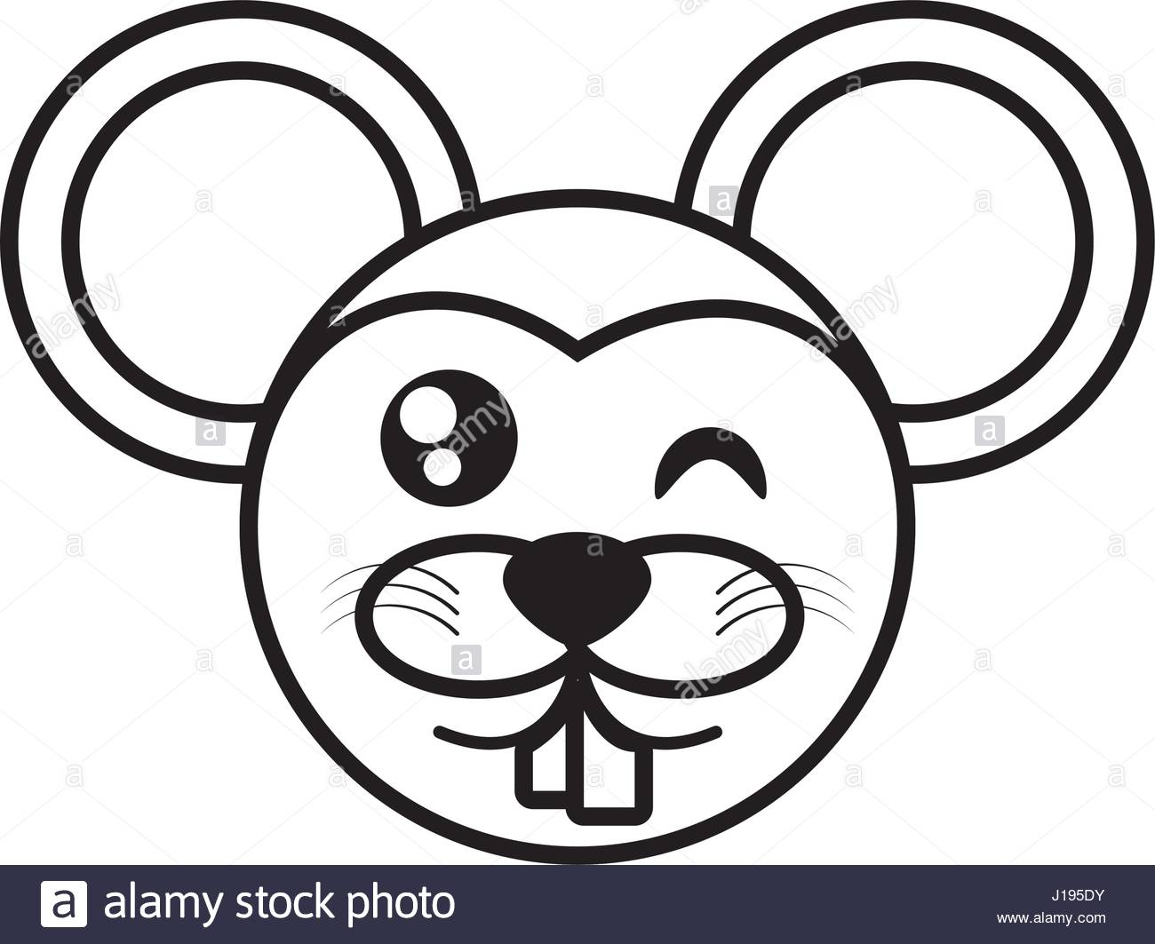 1300x1063 Mouse Face Animal Outline Stock Vector Art Amp Illustration, Vector