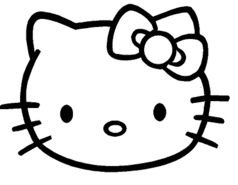 829x644 Hello Kitty Drawings Many Interesting Cliparts