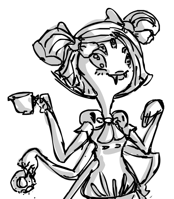 562x641 Flash W Mouse] Quick Muffet Drawing By Maxigamer