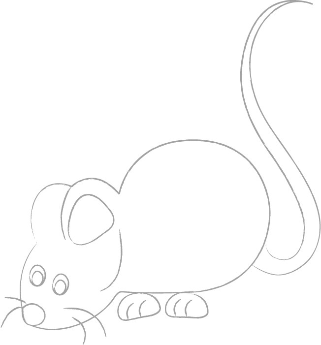 652x701 Sketching Mouse, Drawing Mouse, Simple Sketching
