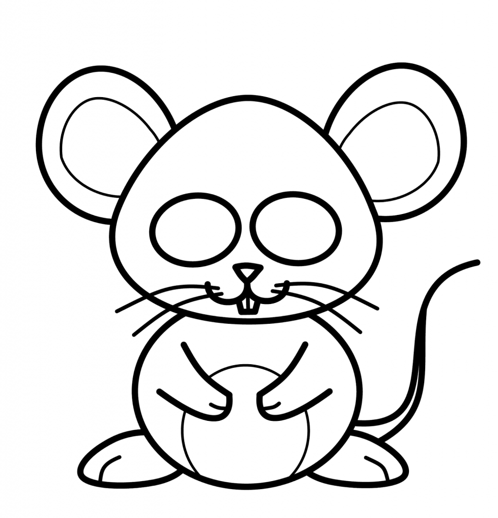 984x1024 Mouse Drawing