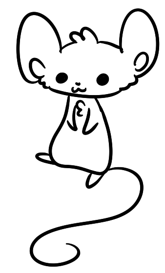 338x560 F2u Mouse Lineartase! +ms Paint Version! By Verasimba