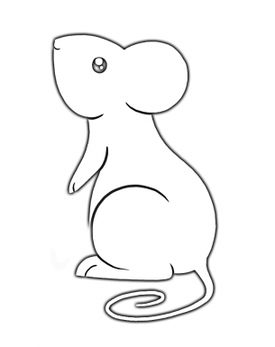 305x385 Mouse Activities Template Printable Coloring Pages