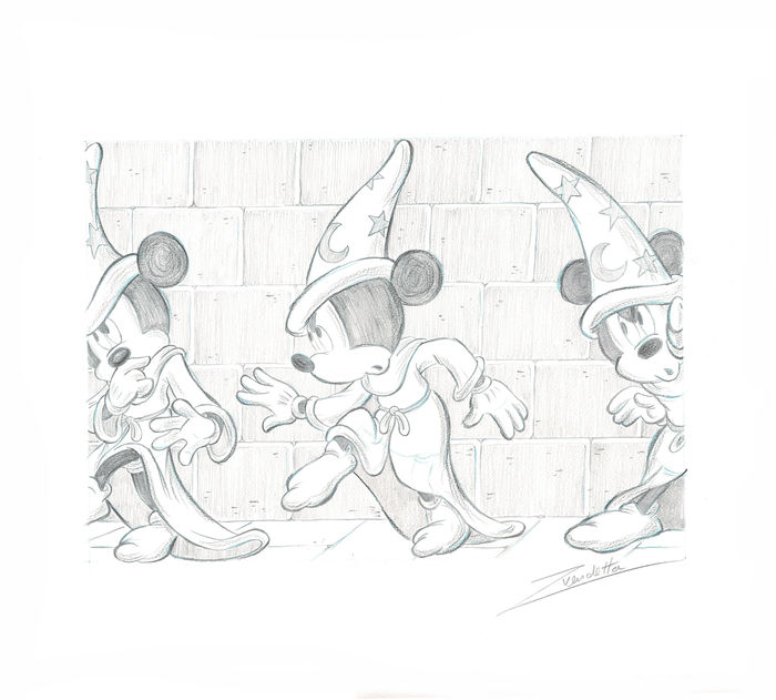 700x631 Mickey Mouse