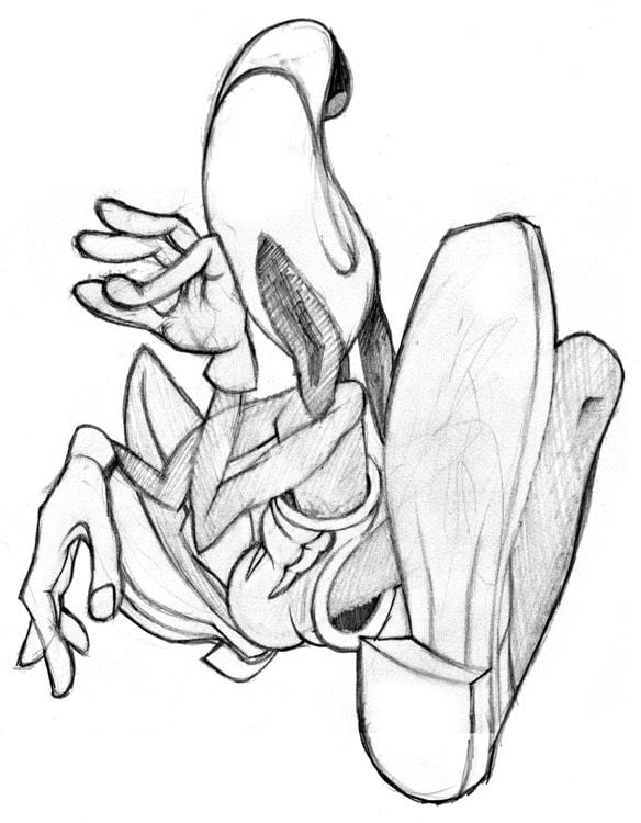 584x750 Pencil Drawings By Adam Strange
