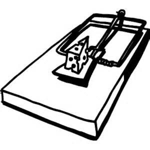 300x300 Free Clipart Mouse Trap