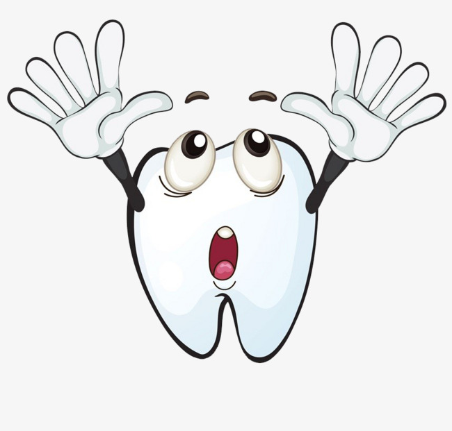 650x621 Open Your Mouth And Surprise Your Teeth, Tooth, Cartoon Hand