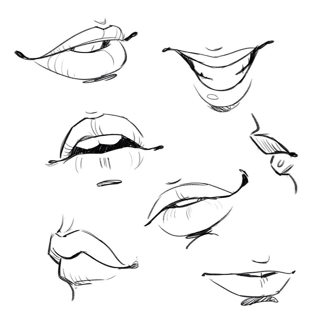 Mouth Drawing