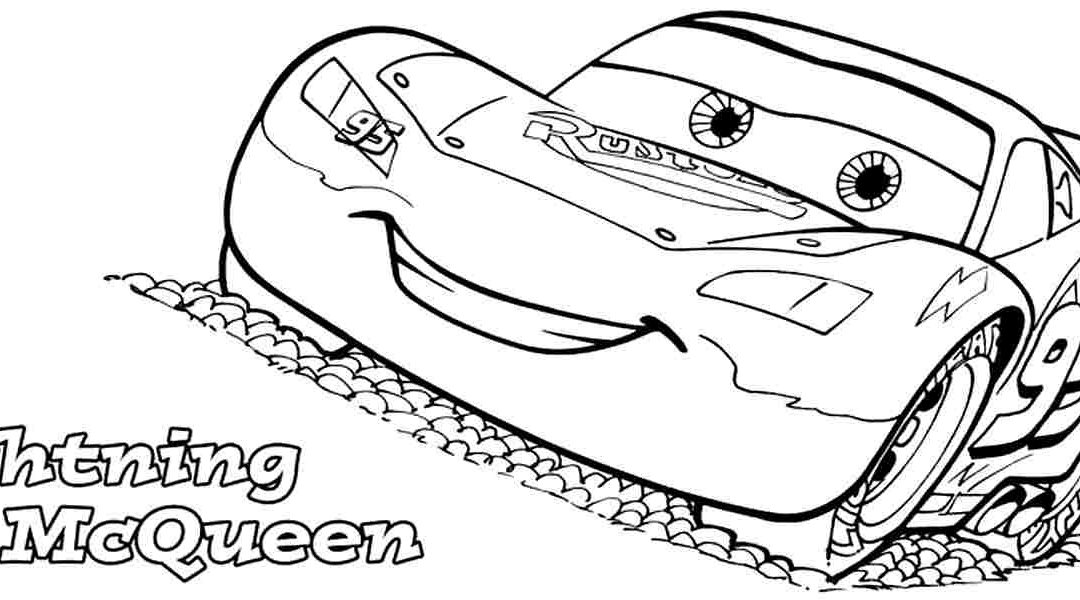 1080x600 Lightning Mcqueen Coloring Pages Printable Fantastic And Drawing