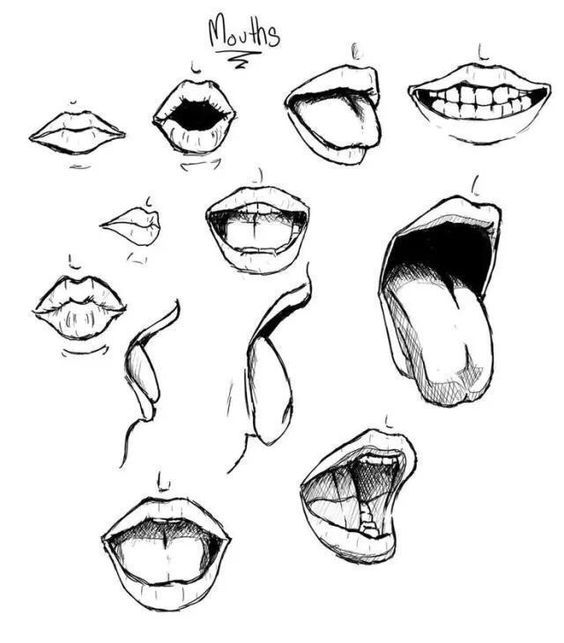 564x643 Reposting Some Mouths From My July Body Parts Challenge