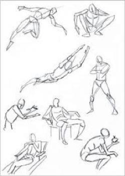 249x350 Dance Movement Drawing