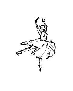 241x300 Dance Movement Drawings Fine Art America