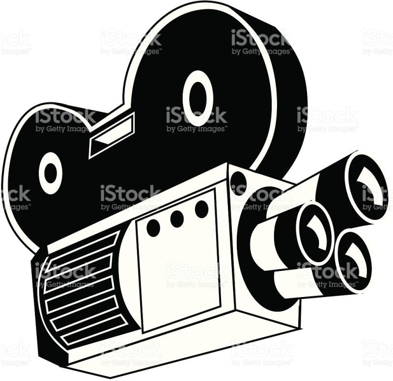 Movie Camera Drawing At Getdrawings Com