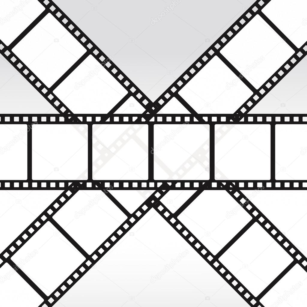 1024x1024 35mm Movie Film Reel Filmstrip Photo Roll Negative Reel Movie