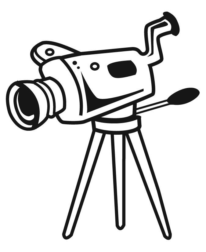 675x825 Movie Film Clipart