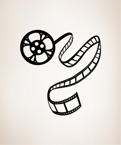 Movie Reel Drawing