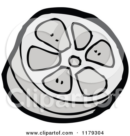 450x470 Cartoon Of A Film Strip Reel