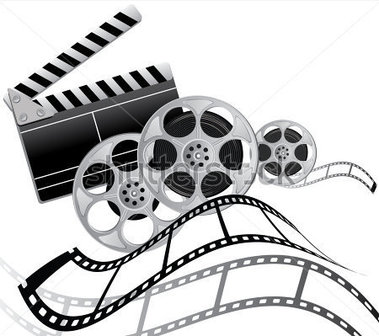 379x336 Film Shooting Camera Clipart