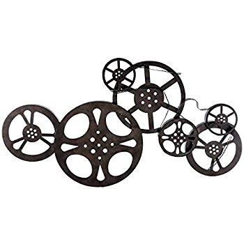 350x350 Antique Bronze Metal Movie Reel Wall Art Posters Amp Prints