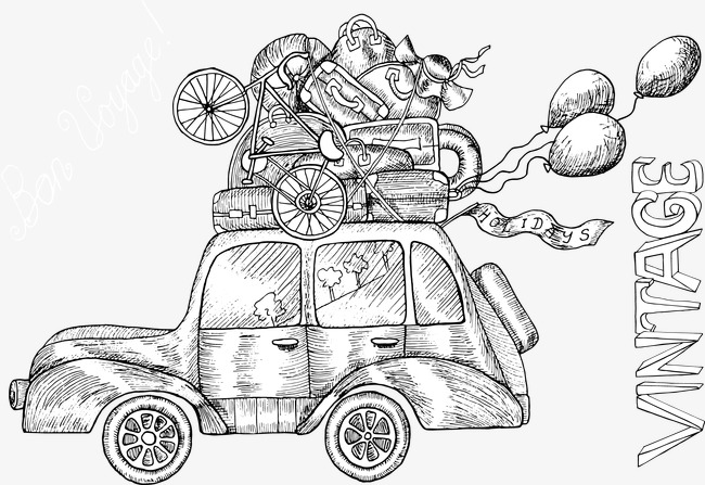 650x447 Hand Painted Moving Car, Hand Painted, Vector, Moving Cars Png
