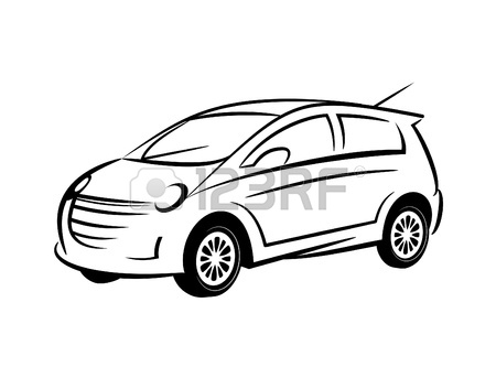 Line Drawing Of Car : Lowrider coloring pages awesome free download car