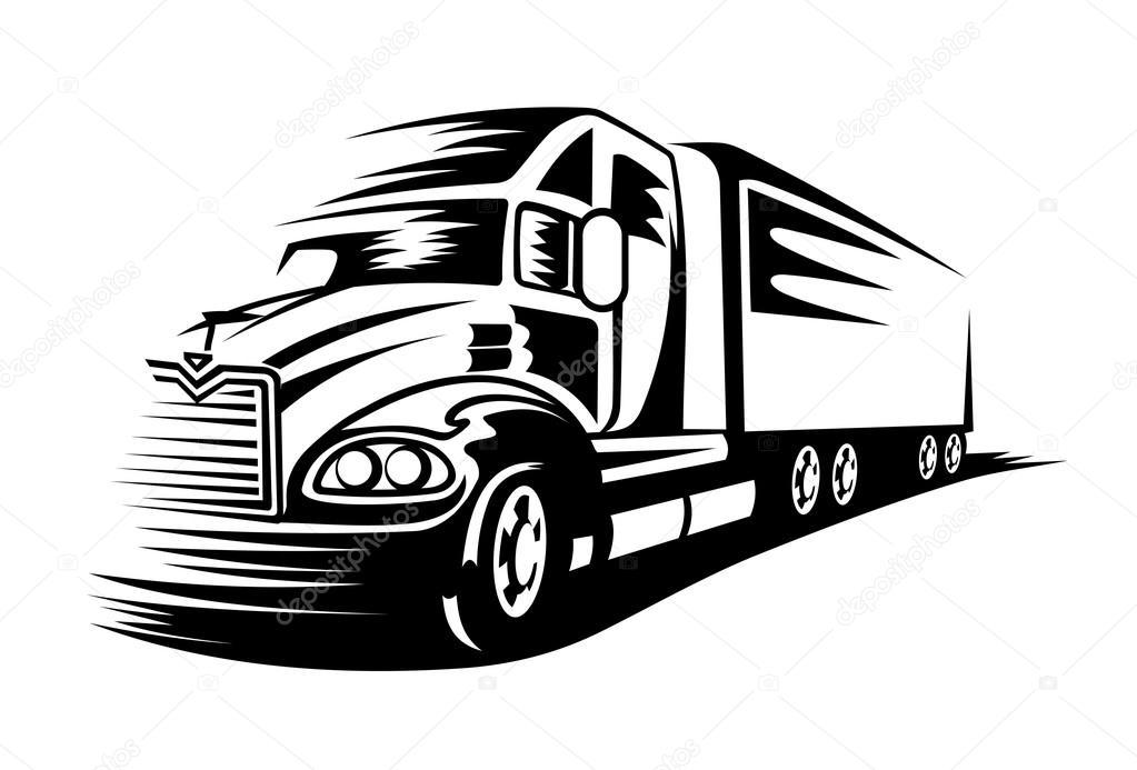 1023x693 Moving Truck Stock Vector Nihongo