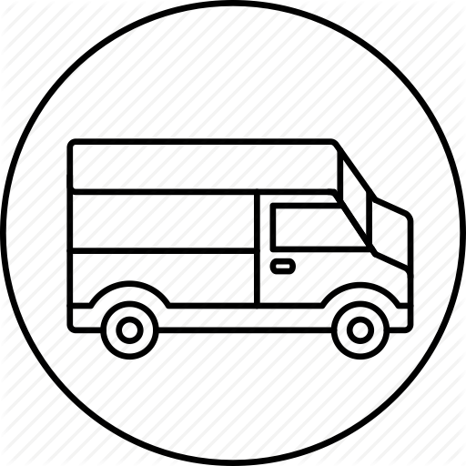 512x512 Delivery, Shipping, Transport, Transportation, Truck Icon Icon
