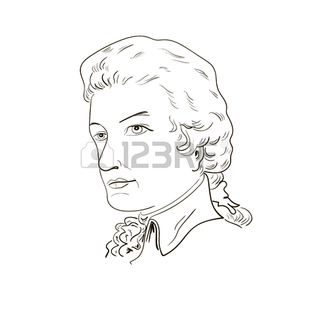 Mozart Drawing