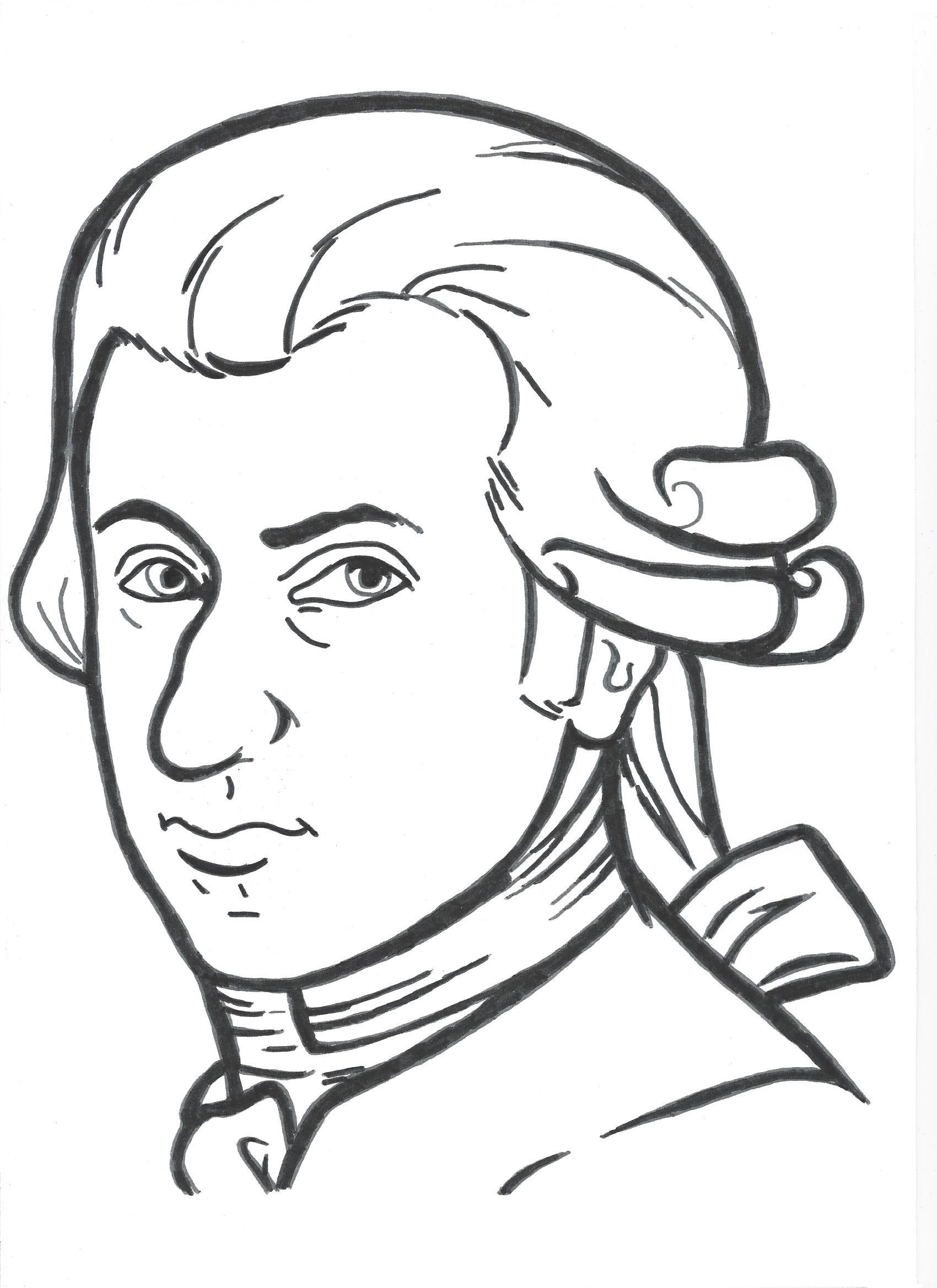 1700x2338 Portrait Of Wolfgang Amadeus Mozart