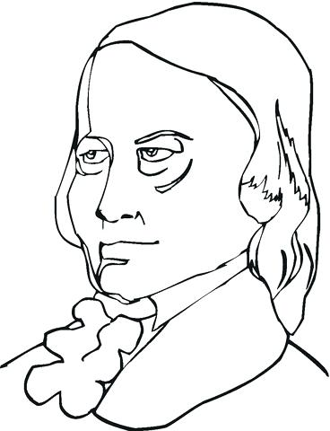 368x480 Wolfgang Amadeus Mozart Coloring Page Printable Coloring Page Free