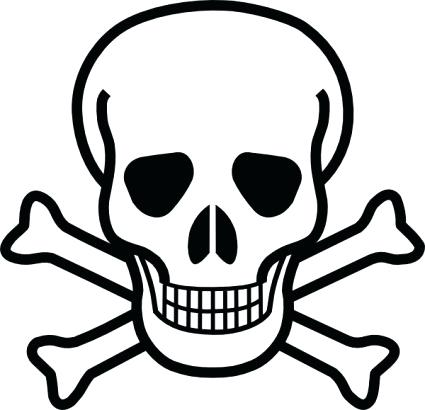 425x410 Ms Office Clipart Skull Vector Art Free Download Clip On Ms Office