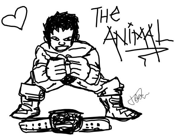 582x453 Batista Msn Drawing By Skylamb