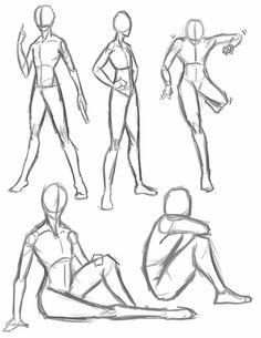 236x305 Manga Basic Poses Standing And Sitting Letraset Blog