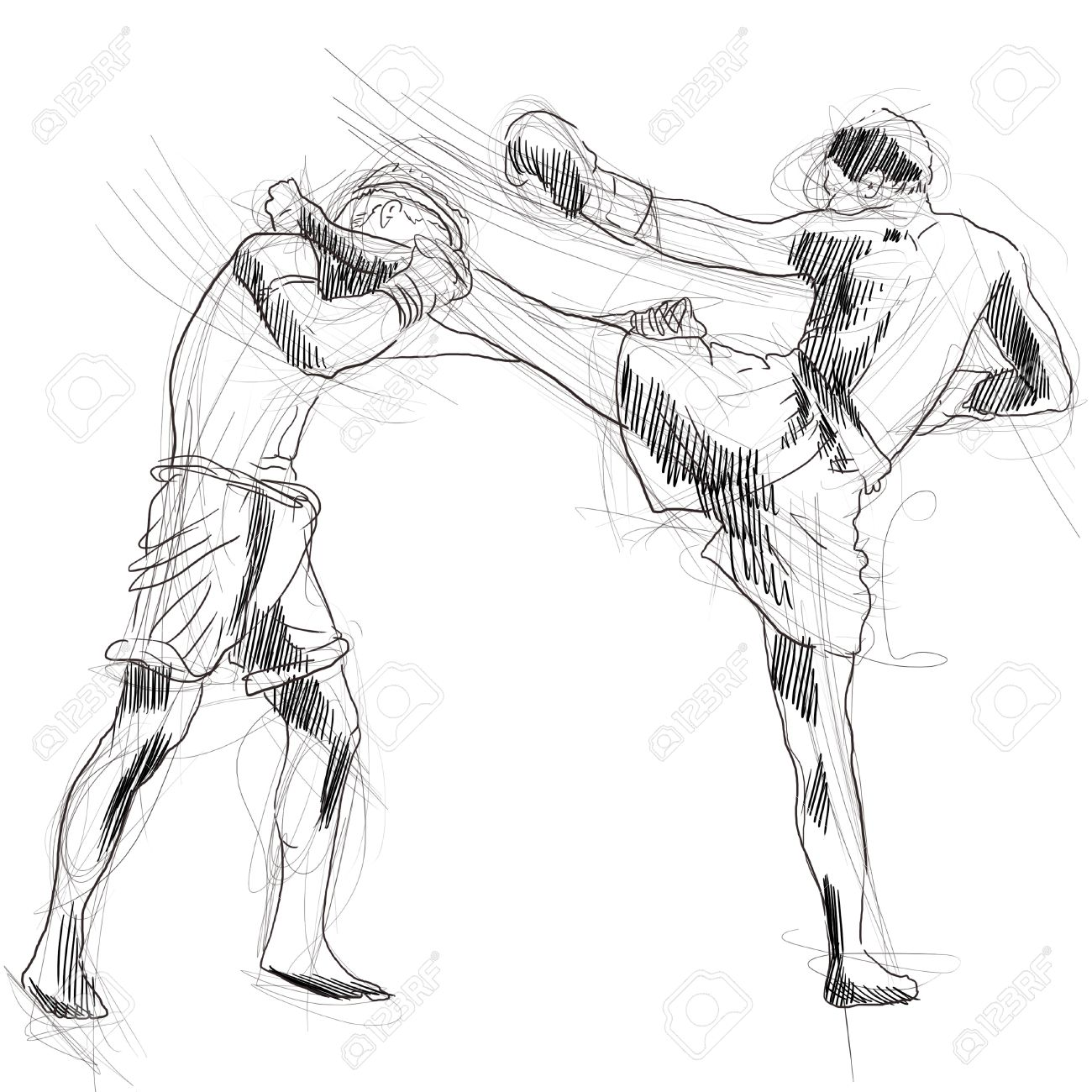 1300x1300 Muay Thai Combat Martial Art From Thailand