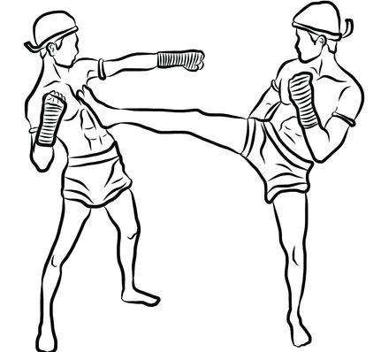 431x398 Muay Thai Techniques